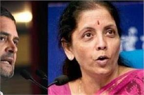 rahul gandhi taunted sitharaman s statement on onion