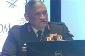 army equipped with technology will be heavy on the enemy general rawat