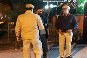 head constable posted at bjp mp s official residence shot himself