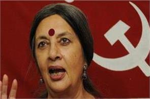 rss and bjp trying to ruin democratic structure brinda karat