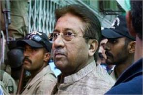 will the execution of musharraf be stayed