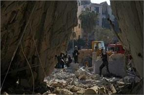 conflict between gov and armed groups in syria nearly 70 people killed