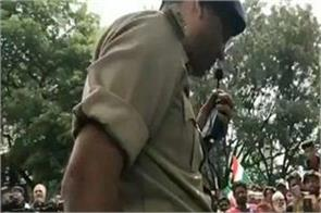 caa protest was being held in bengaluru a move by dcp went quietly