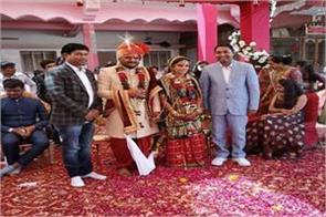 hardik patel a patidar leader tied to the marriage ceremony