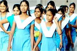 girlfriends returning from a residential school in odisha