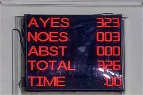 general reservation bill passed from lok sabha amendment bill