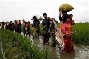 1300 rohingya muslims came to bangladesh from india