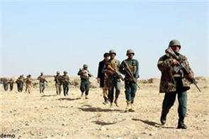 10 terrorists stack in afghanistan including taliban commander