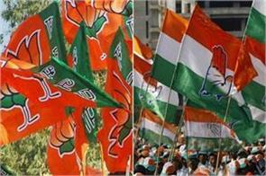 bjp s challenge on the seats contested by congress