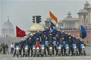 today full dress rehearsal of republic day parade