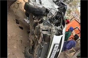 high speed car crash swift shatter four serious
