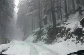 snow storm in ladakh