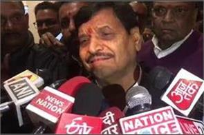 bjp will uproot power in the coming elections shivpal
