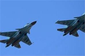 russian fighter jets collide over sea of japan