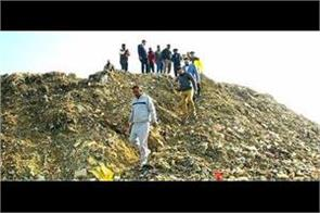 garbage dumps reaching the dumping ground instead of processing plants