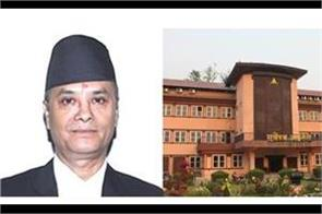 justice cholendra rana takes over as nepal s new chief justice