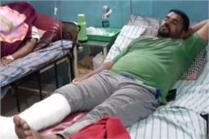 attack on bjp leader in jabalpur