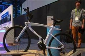 ces 2019  cybic legend takes smart biking to next level with amazon alexa