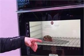 ces 2019 the first smart oven to have a camera