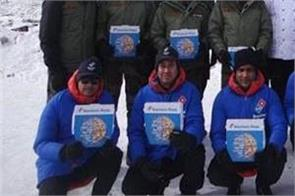 dominos delivered pizza for indian army
