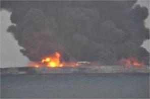 ships with indian turkish crews catch fire in kerch strait 11 dead