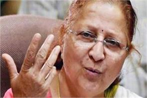 rahul understood that doing politics alone is not his talk  sumitra mahajan