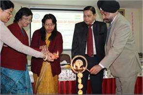 workshop on information technology at guru nanak college of education delhi