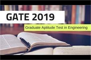 gate 2019 exam
