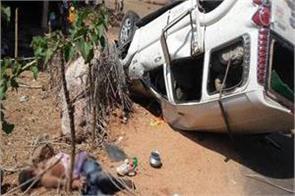 ballia 2 killed in road accident 8 injured