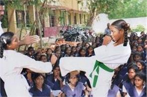 self defence training for kids part of education at schools in up