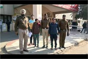 cm i t police arrested two accused who steal the advisor s house