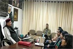 tourism minister meetings with officials