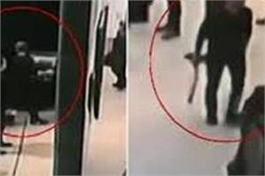 suspect arrested after a painting was stolen off a moscow gallery