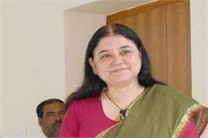 maneka gandhi attack chief minister patnaik about anganwadi case