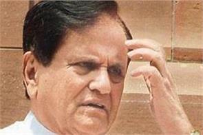 ahmed patel attack on modi government