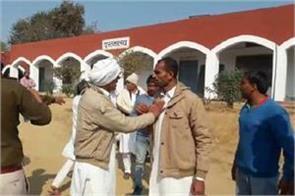 kandela village workers clash during voting