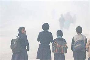 heavy rains in delhi in number of children in school