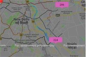 delhi ncr pollution depression