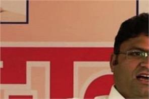ashok tanwar appeared in sharp spell during the press conference