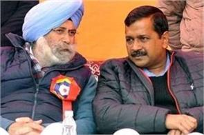 friendship with kejriwal is confirmed phoolka