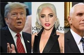 lady gaga calls out trump pence during vegas show