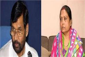 daughter of paswan angry with statement given on rabri