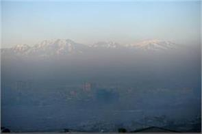 kabul air pollution is at highest rate in afganistan