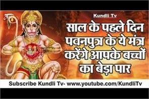 special mantra of hanuman ji on new year