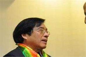 former arunachal chief minister apang quit the bjp