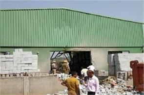 goa blast in cement block factory nine injured