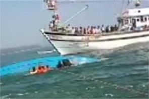 6 dead after a boat capsized near karwar