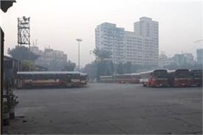 buses strike in mumbai on seventh day