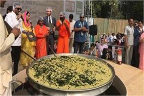 bjp will cook 3 000 kg khichadi in amit shah s rally eye on dalit votes