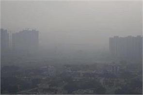 air quality in delhi  bad  slightly improved in the situation